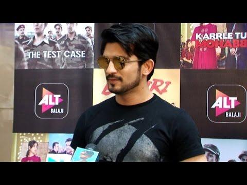 Pardes Mein Hai Mera Dil actor Arjun Bijlani at Sc