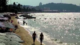 Thailand Pattaya Beach 20/12/2012 Beach View Full HD Sanyo VPC CG 88