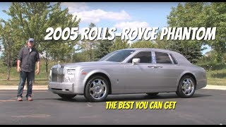 http://www.SupercarNetwork.com http://www.ChicagoMotorCars.com Take a ride in a 2005 Rolls-Royce Phantom with Chris Moran from Chicago Motor Cars.