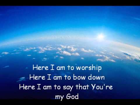 Annica (acoustic) - Here I am to Worship
