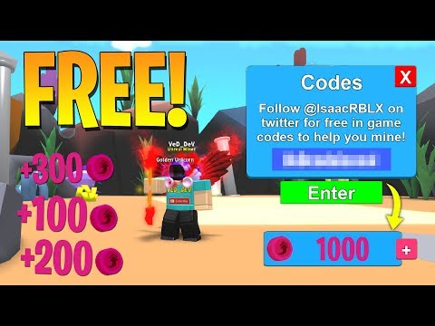 HOW TO GET FREE TOKENS IN MINING SIMULATOR! (Roblox)