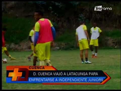 Deportivo Cuenca viajó a Latacunga para enfrentarse a Independiente Juniors