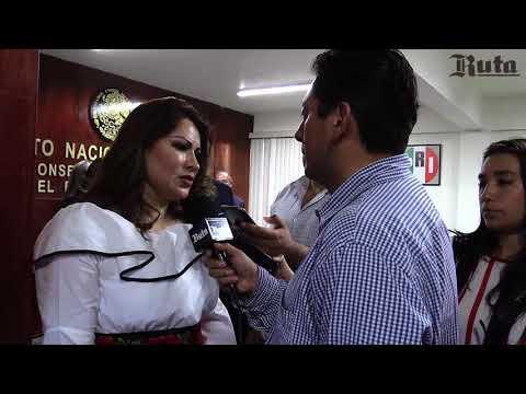 Emilse Miranda se registra ante el INE