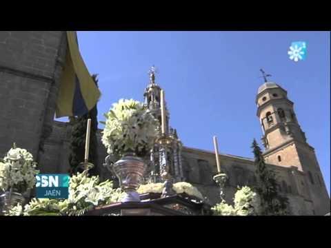 Baeza celebra la tradicional festividad del Corpus Christi