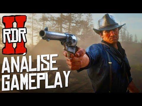 COISAS QUE VOCÊ NÃO PERCEBEU NA GAMEPLAY DE RED DEAD REDEMPTION 2! - Análise Trailer Jogabilidade #1