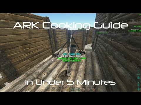 ARK Survival Evolved: How To Cook Rockwell Recipes