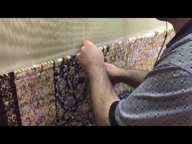 ペルシャ絨毯の作り方、HOW TO MAKE PERSIAN CARPET