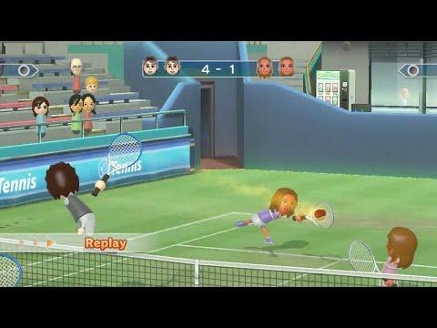 mario power tennis wii unlockable