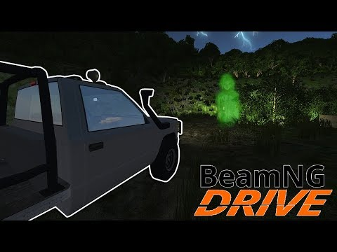 Finding The New Cemetery & Ghost In This Haunted Map! - BeamNG Drive Gameplay - Scary Map