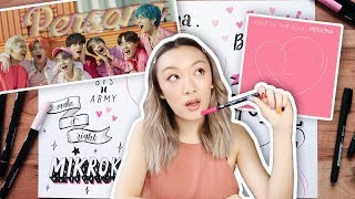 Doodle With Me! BTS - Boy With Luv/Map of the Soul: Persona