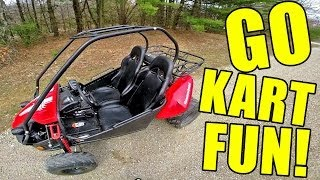 7. Hammerhead GTS 150 Go Kart POV Fun! + Top speed