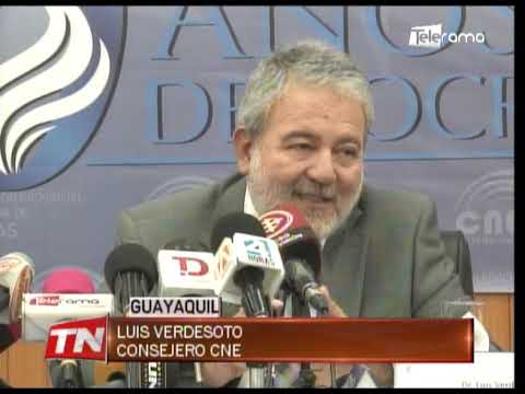 Consejero Luis Verdesoto denuncia red de tráfico de cargos al interior del CNE