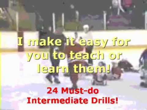 Must-do Hockey Skating Drills – with Coach Chic