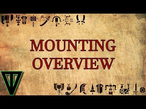 MHW Mounting Overview (видео)