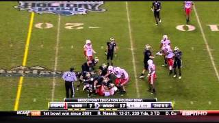 Chris Polk vs Nebraska 2010