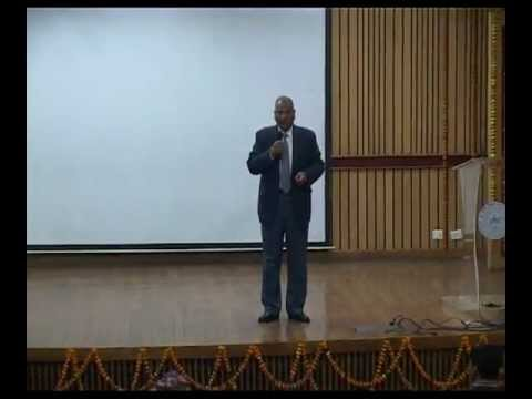 Dr. Vikram Singh-'Service as a Way of Life' at IIT Kanpur