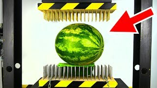 Video WATERMELON BETWEEN NAIL BEDS (HYDRAULIC PRESS EXPERIMENT) MP3, 3GP, MP4, WEBM, AVI, FLV Desember 2018
