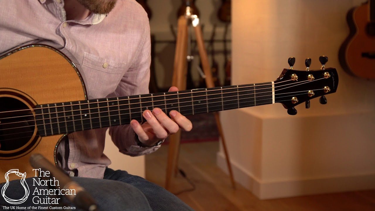 """David Eichelbaum """"Super"""" Grand Concert Acoustic Guitar Played By Will McNicol (Part One)"""