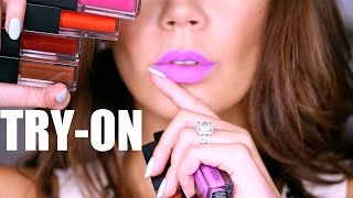 SMASHBOX - ALWAYS ON MATTE REVIEW   Full Collection by Glam Life Guru