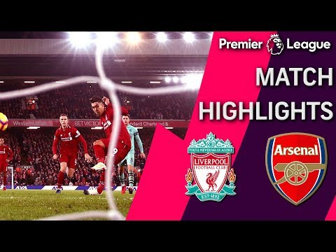 Liverpool V. Arsenal | PREMIER LEAGUE MATCH HIGHLIGHTS | 12/29/18 | NBC Sports