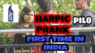 """We have done a prank With random People and Ask them for address and Start drinking HARPIC AND COLIN in front of Them and hot girls. This is the first Prank ever happen in India . We used toilet cleaner in this prank which name is Harpic . and catch Hot girls reactions This is first and unique prank of 2017. Delhi pranksters have done this for you with awesome reaction.We use best product to clean bathroom  This is new prank of  2017 this is the prank happen with hot girls and we start drinking bathroom floor cleaner Harpic. Pranks calling App.-~-~~-~~~-~~-~-Please watch: """"IMPRESSING {HOT GIRL} GONE WRONG with """" https://www.youtube.com/watch?v=HQbW8327lfE-~-~~-~~~-~~-~-"""