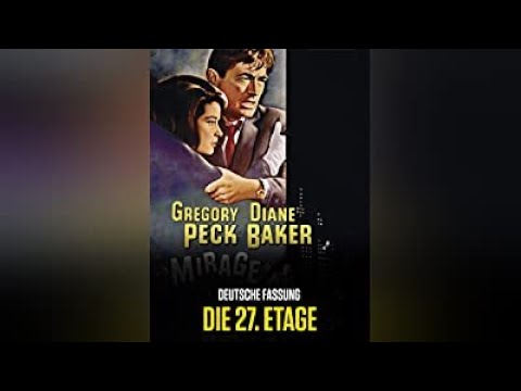 Mirage (1965) Mystery, Thriller - Gregory Peck, Diane Baker