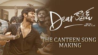 Dear Comrade Telugu - Canteen Song Making | Vijay Deverakonda | Rashmika | Bharat Kamma