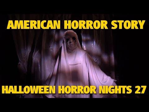 American Horror Story Vol. 2 Asylum, Coven, & Roanoke Maze Highlights   Halloween Horror Nights 27