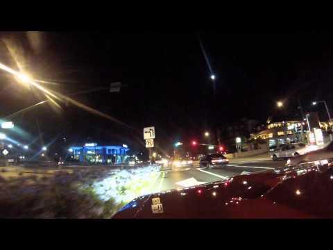 Night Curuise in El Camino Real Millbrae