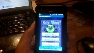 Crip Clock Widget YouTube video
