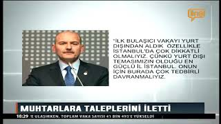 Süleyman Soylu Video Konferans - Line Tv