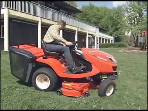 Kubota GR2120 Diesel Ride on Mower