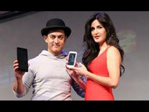 Aamir, Katrina Launch 'Dhoom 3' Merchandise   Hindi Movie   Abhishek Bachchan, Uday Chopra