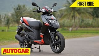 3. Aprilia SR 150 | First Ride | Autocar India