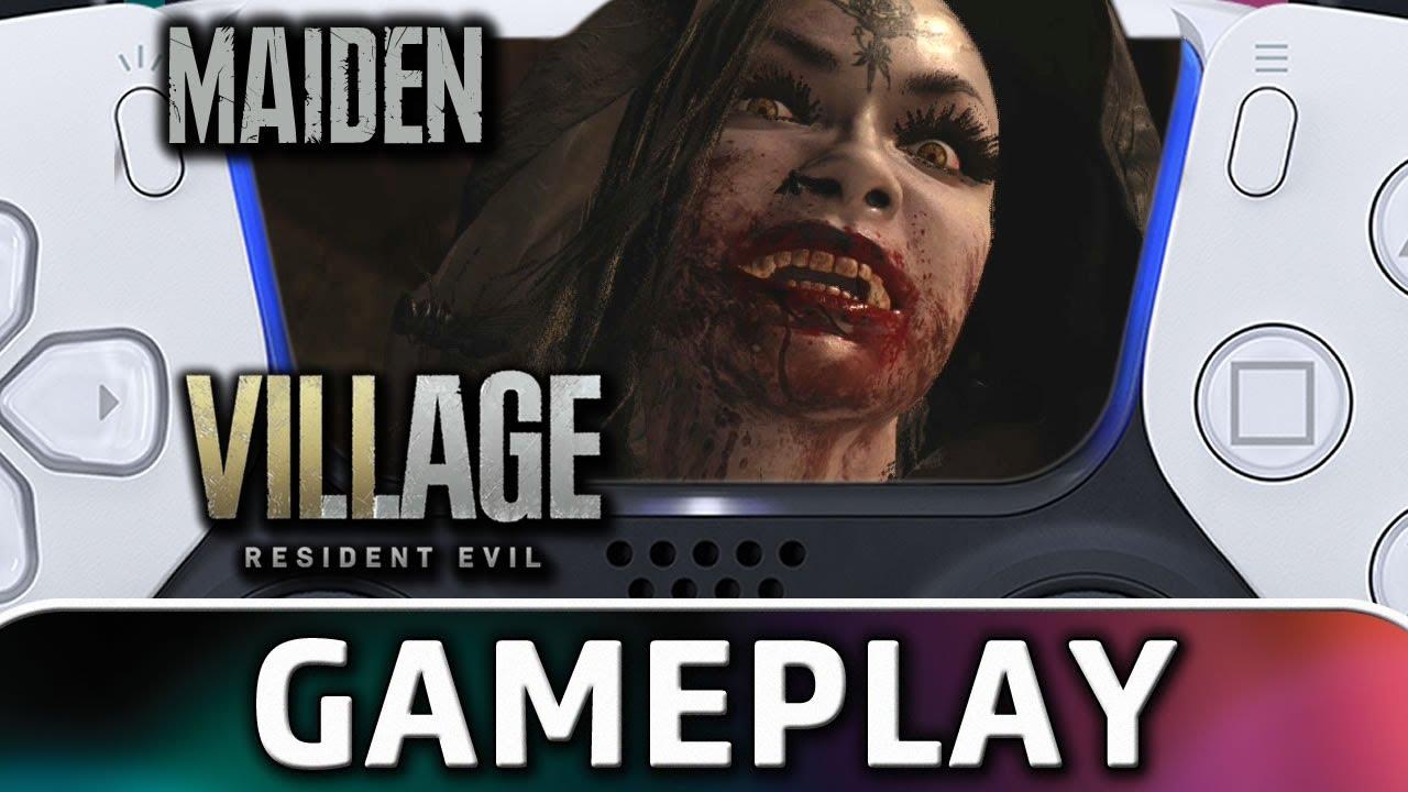 Resident Evil Village | Full MAIDEN DEMO Gameplay on PS5 at 4K