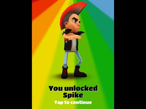 subway surfers unlock spike for android(ROOT ONLY)