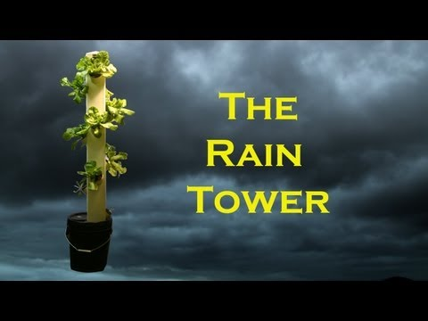 The Rain Tower – Vertical Hydroponic System