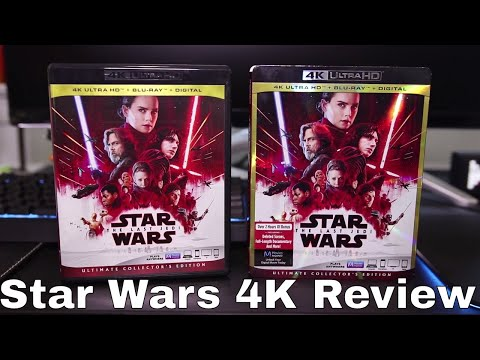 Star Wars: The Last Jedi 4K Blu-Ray Review