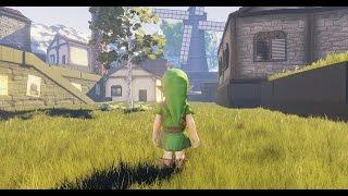 Ocarina of Time meets Unreal Engine 4 - Kakariko Village - YouTube