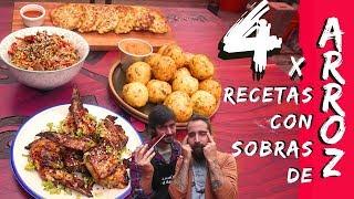 4 Recetas con Sobras de Arroz | Cook & Laucha 2×1