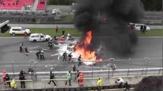 Video Horrible crash Brno Crash FIA GT Brno Lamborghini Gallardo Super Trofeo LP 560-4 crash .mpg MP3, 3GP, MP4, WEBM, AVI, FLV Agustus 2019
