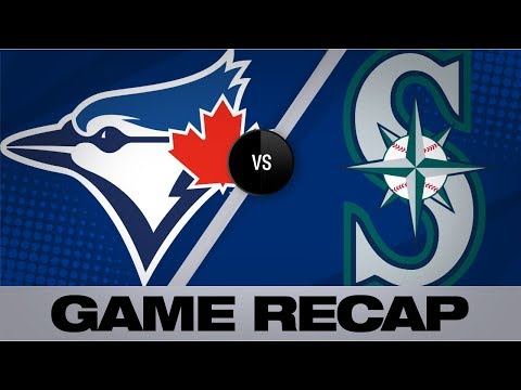 Video: Moore homers, Gonzales dazzles in 14th win | Blue Jays-Mariners Game Highlights 8/25/19