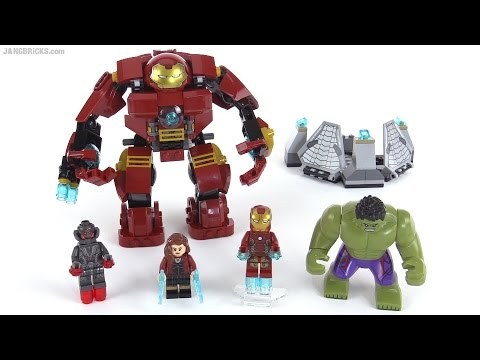 LEGO Marvel Super Heroes The Hulk Buster Smash review! set 76031