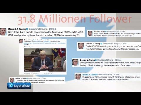 Donald Trump blockiert auf Twitter
