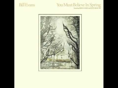 evans - You Must Believe in Spring, recorded in 1977, was the first album published after the death of Bill Evans, in 1980. Themes like absence, loss, death (so clos...