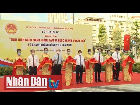 TP Hồ Chí Minh triển lãm mừng 75 năm Quốc khánh
