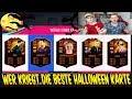 FIFA 19: Wer kriegt die beste HALLOWEEN KARTE im Fut Draft Battle vs. BRUDER! - Ultimate Team