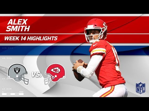 Video: Alex Smith Leads His Team to Victory vs. Oakland! | Raiders vs. Chiefs | Wk 14 Player Highlights