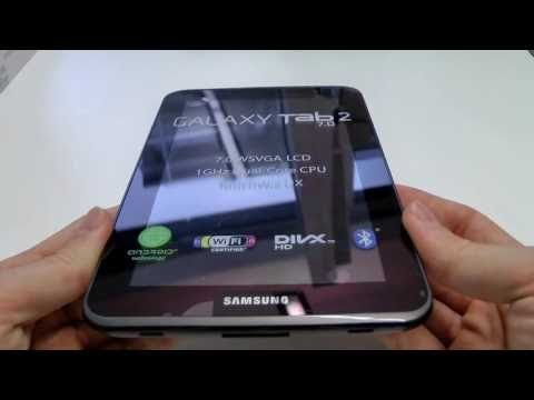 Samsung Galaxy Tab 2 7.0 Unboxing und Vergleich mit Galaxy Tab 7.7