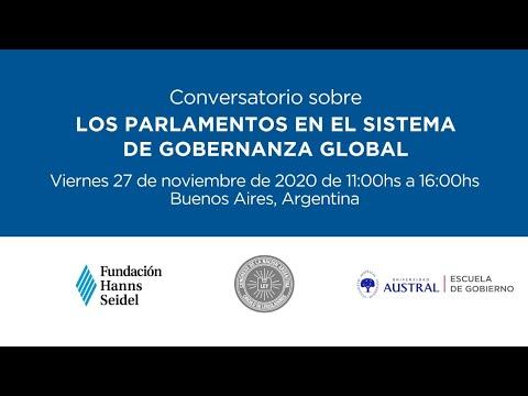 Conversatorio sobre los parlamentos en el sistema de gobernanza global